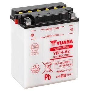 Yuasa YB14-A2 Motorcycle Battery
