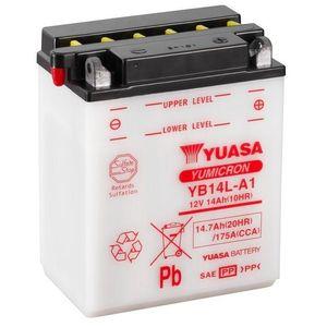 Yuasa YB14L-A1 Motorcycle Battery
