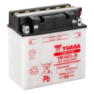 Yuasa YB16CL-B Motorcycle Battery