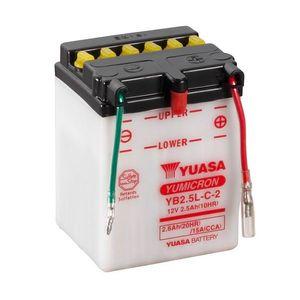 Yuasa YB2.5L-C-2 Motorcycle Battery