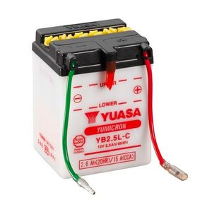 Yuasa YB2.5L-C Motorcycle Battery