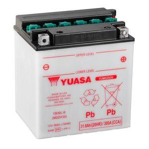 Yuasa YB30L-B Motorcycle Battery
