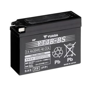 Yuasa YT4B-BS MF Motorcycle Battery