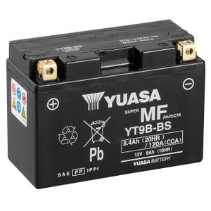 Yuasa YT9B-BS MF Batterie De Moto