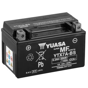 YTX7A-BS Yuasa Quad Bike ATV Battery