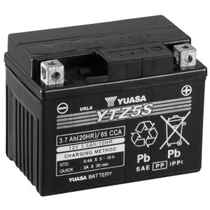 Yuasa YTZ5S High Performance MF Motorcycle Battery