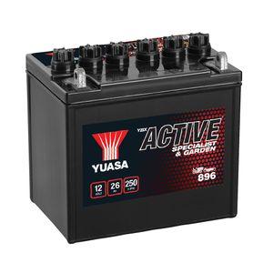896 Yuasa Garden Battery 12V 26Ah