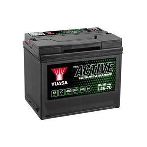 L26-70 Yuasa Leisure Battery 12V 70Ah