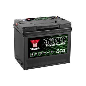 L26-80 Yuasa Leisure Battery 12V 80Ah