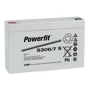 S306/7S Powerfit S300 Network Battery