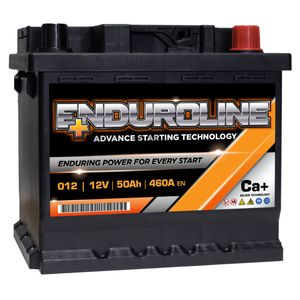 012 Enduroline Car Battery 12V 50Ah