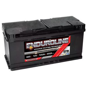 020 EFB Enduroline Start Stop Car Battery 105AH