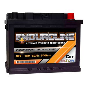 027 Enduroline Car Battery 62Ah