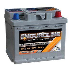 063 Enduroline Car Battery 45Ah