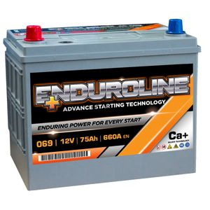069 Enduroline Car Battery 75Ah