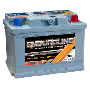 075 Enduroline Car Battery 60Ah