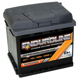 077 Enduroline Car Battery 50Ah