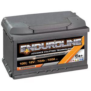 100 Enduroline Car Battery 72Ah
