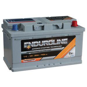 110 Enduroline Car Battery 80Ah