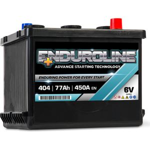 404 Enduroline 6V Classic Car Battery 77Ah