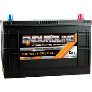 663 Enduroline Starter Battery 110Ah