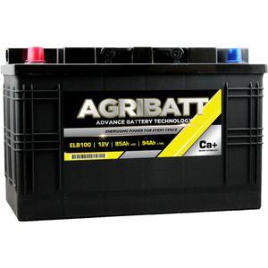 AgriBatt ELB100 Heavy Duty Electric Fence Battery 12V 94Ah c100