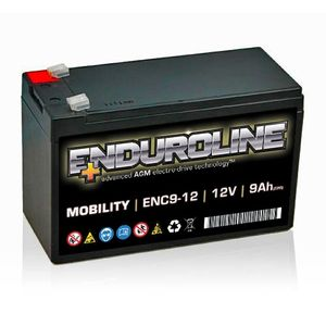 ENC9-12 Enduroline Mobility Battery 12V 9Ah