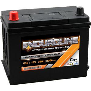 038 Enduroline Car Battery 36Ah