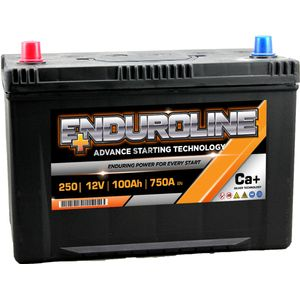 250 Enduroline Car Battery 12V