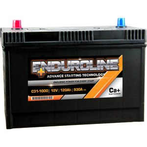 C31-1000 Enduroline Car Battery 12V 120Ah