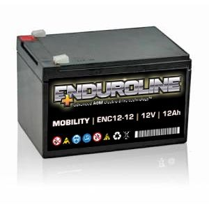 ENC12-12 Enduroline electro-drive VRLA Battery 12V 12Ah
