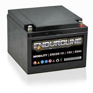 ENC26-12 Enduroline Mobility Battery 12V 26Ah