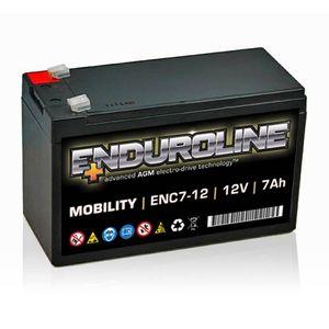 ENC7-12 Enduroline electro-drive VRLA Battery 12V 7Ah