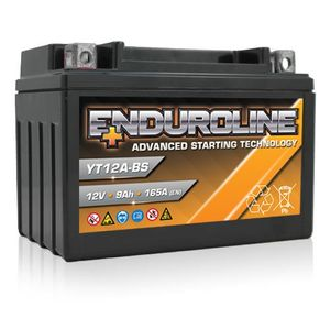 YT12A-BS Enduroline Advanced Motorcycle Battery 12V