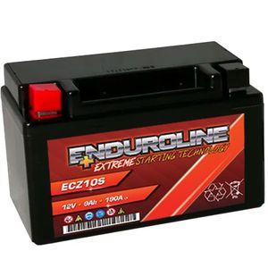 Enduroline ECZ10S AGM Motorcycle Battery 9Ah