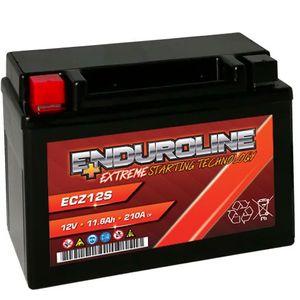 Enduroline ECZ12S AGM Batterie Moto 11.6Ah