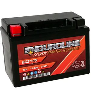 Enduroline ECZ14S AGM Motorcycle Battery 11.8Ah