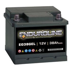 EG38GEL Enduroline GEL Battery 12V 38Ah