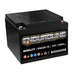 ENC28-12 Enduroline Mobility Battery 12V 28Ah