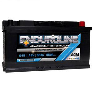 019 Enduroline AGM Start Stop Car Battery 95Ah
