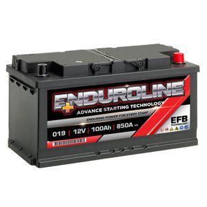 019 EFB Enduroline Start Stop Car Battery 100Ah
