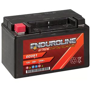 Enduroline EC091 Auxiliary AGM Battery 9Ah 120A