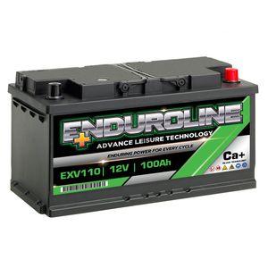 EXV110 Enduroline Calcium Leisure Battery 12V