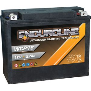 WCP18 Enduroline Motorcycle Battery 12V 22Ah