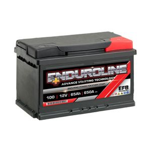 100 EFB Enduroline Start Stop Car Battery 65Ah