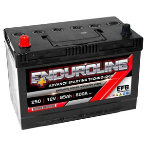 250 EFB Enduroline Start Stop Car Battery 95Ah