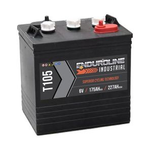 Enduroline T105 Deep Cycle Battery 6V 227Ah