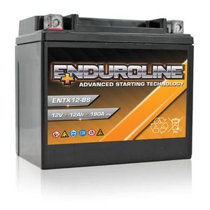 ENTX12-BS Enduroline Advanced Motorcycle Battery 12V 12Ah