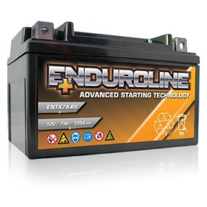 ENTX7A-BS Enduroline Advanced Motorcycle Battery 12V 7Ah