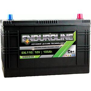 EXL110 Enduroline Leisure Marine Battery 105Ah